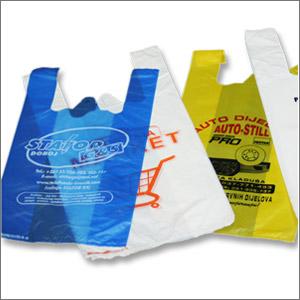 HDPE vrećice tregerice sa štampom