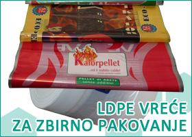 LDPE vreće i folije za pakovanje