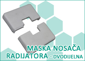 Maska nosaca radijatora - dvodijelna