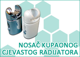 Nosač kupaonog cjevastog radijatora