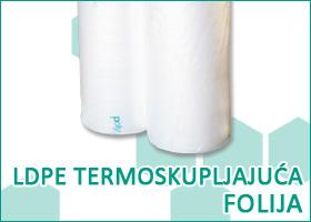 LDPE termoskupljajuća folija