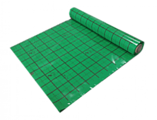 PE foil for floor heating